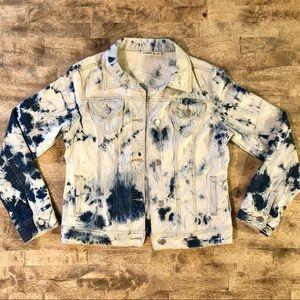 Cato Tie Dye Denim Jacket